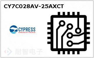 CY7C028AV-25AXCT