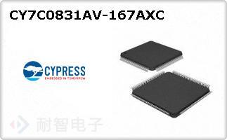 CY7C0831AV-167AXC