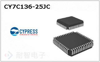CY7C136-25JC