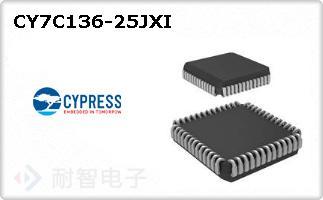 CY7C136-25JXI
