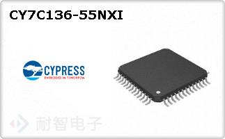 CY7C136-55NXI
