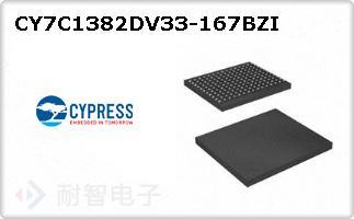 CY7C1382DV33-167BZI