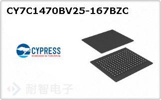 CY7C1470BV25-167BZC