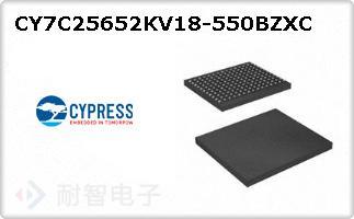 CY7C25652KV18-550BZXC