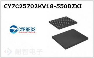CY7C25702KV18-550BZX
