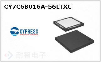 CY7C68016A-56LTXC