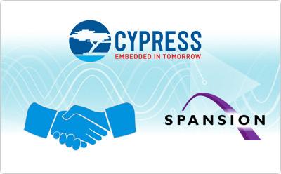 Cypress花16亿美金终收Spansion巩固存储领域