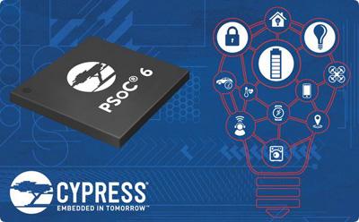 Cypress宣布推出专为物联网(IoT)设计的PSoC 6